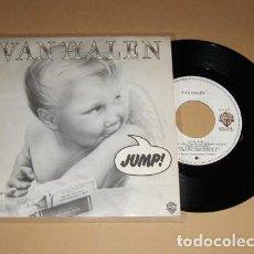 Discos de vinilo: VAN HALEN - JUMP! (SALTA) - SINGLE - 1983. Lote 112277151