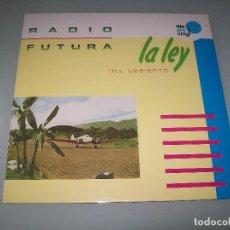 Discos de vinilo: RADIO FUTURA - LA LEY DEL DESIERTO LA LEY DEL MAR ..LP - PRECINTADO - NUEVA EDICION 2017. Lote 112284871
