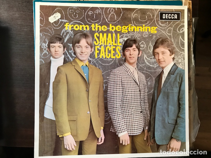 FROM THE BEGINNING. SMALL FACES (Música - Discos - LP Vinilo - Pop - Rock Extranjero de los 50 y 60)