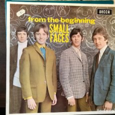 Discos de vinilo: FROM THE BEGINNING. SMALL FACES. Lote 112288608