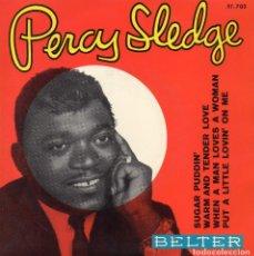 Discos de vinil: PERCY SLEDGE, EP, SUGAR PUDDIN´ + 3 , AÑO 1966. Lote 112293031