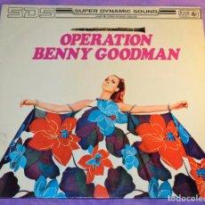 Discos de vinilo: DISCO VINILO LP. OPERATION BENNY GOODMAN. Lote 112303447