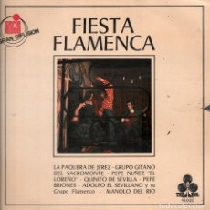 Discos de vinilo: FIESTA FLAMENCA - LA PAQUERA , EL LOREÑO , GRUPO GITANO ...LP TREBOL RF-4464 . Lote 112305359