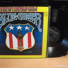 Discos de vinilo: BLUE CHEER NEW IMPROVED LP GERMANY 1969 PEPETO TOP. Lote 112305579