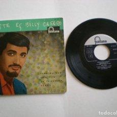 Discos de vinilo: BILLY CAFARO - PERSONALIDAD - FONTANA 467135 - AÑO 1960. Lote 112311851