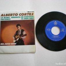 Discos de vinilo: ALBERTO CORTEZ -PRETENDO- HISPAVOX HH17-251 AÑO 1964. Lote 112312147