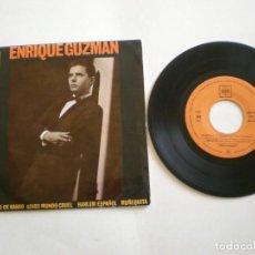 Discos de vinilo: ENRIQUE GUZMAN CON LOS SALVAJES- 100 KILOS DE BARRO- CBS 20017 AÑO 1962. Lote 112312463