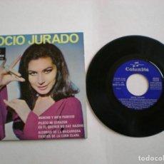 Discos de vinilo: ROCIO JURADO - MORENO Y BIEN PARECIDO - COLUMBIA SCGE 81315 -AÑO 1967. Lote 112313203