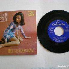 Discos de vinilo: ROCIO JURADO - AUNQUE TE DE LO MISMO - COLUMBIA SCGE 81361 -AÑO 1969. Lote 112313443