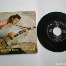 Discos de vinilo: PALITO ORTEGA - DESPEINADA- RCA 3-20728 - AÑO 1964. Lote 112315847
