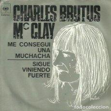 Discos de vinilo: CHARLES BRUTUS. SINGLE. SELLO CBS. EDITADO EN ESPAÑA. AÑO 1970. Lote 112321171