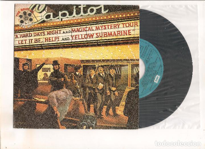 THE BEATLES MOVIE MEDLEY EMI ODEON 1982 EDICION ESPAÑOLA (Música - Discos - Singles Vinilo - Pop - Rock - Internacional de los 70)