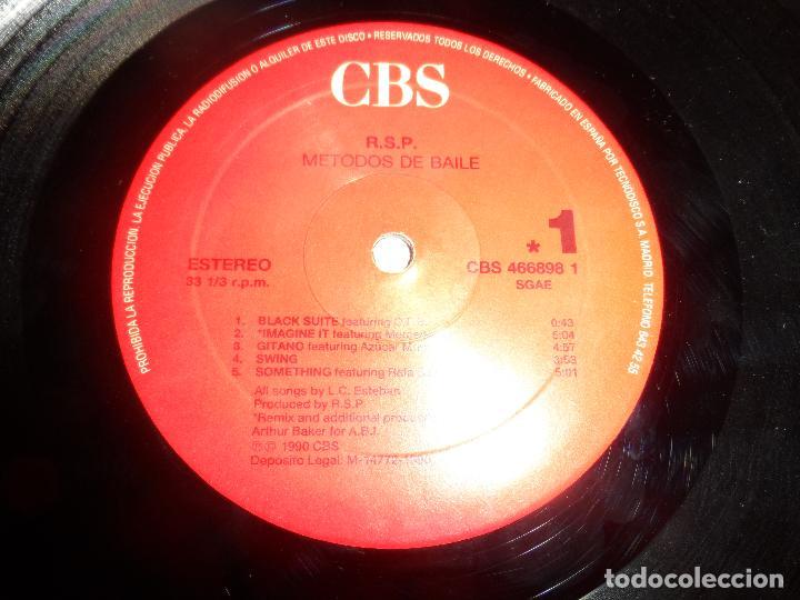 Discos de vinilo: RSP - METODOS DE BAILE (RECOPILATORIO) - Foto 3 - 112329403