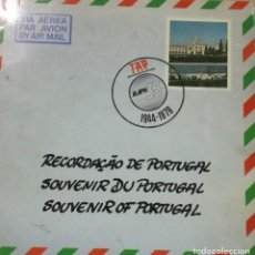 Discos de vinilo: SOUVENIR DE PORTUGAL - DISCO REGALO AEROLINEAS TAP LP DOBLE PORTADA - JORGE FONTES -RARO PORTUGAL. Lote 112330331