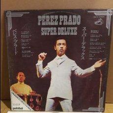 Discos de vinilo: PEREZ PRADO / SUPER DE LUXE / LP / PALOBAL / PORTADA EN JAPONÉS / LEVES MARCAS / ***/**. Lote 112340455