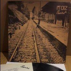 Discos de vinilo: ITOIZ / EZEKIEL / LP - XOXOA - 1980 / INCLUYE LETRAS / NO LLEVA PÓSTER / ***/*** LEER. Lote 112346307