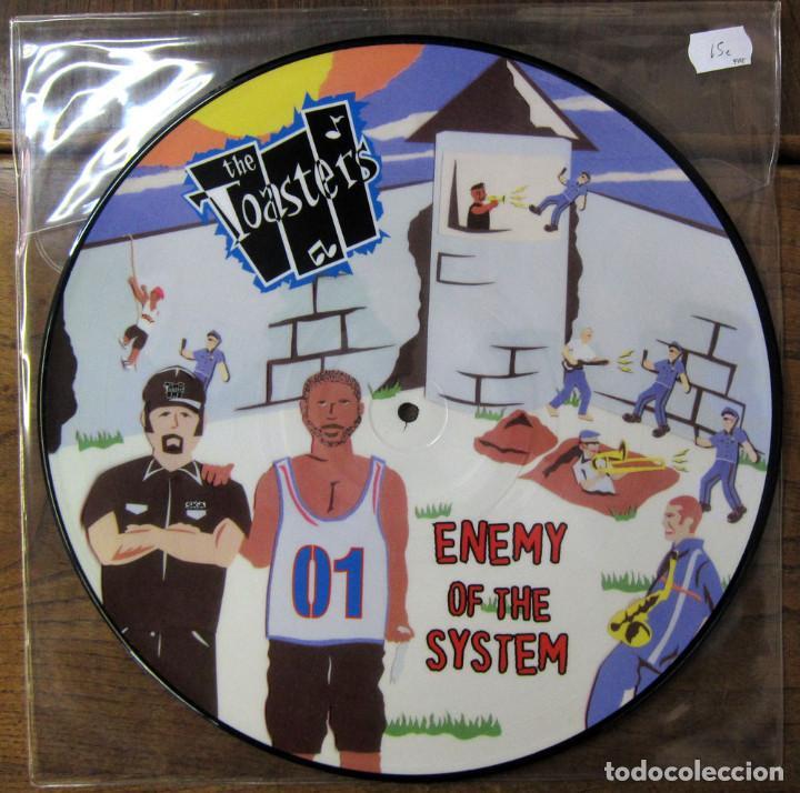 THE TOASTERS - ENEMY OF THE SYSTEM - 2002 - PICTURE DISC - REGGAE, SKA (Música - Discos - LP Vinilo - Reggae - Ska)