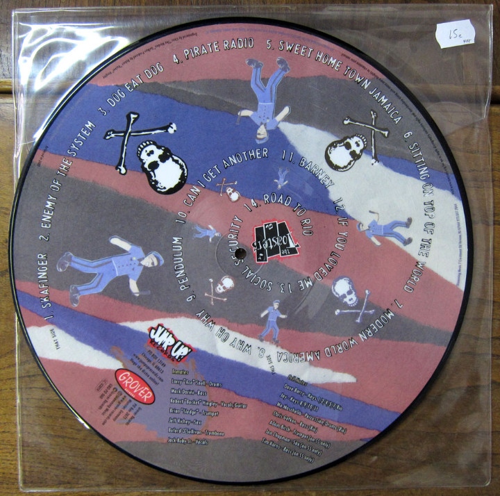 Discos de vinilo: THE TOASTERS - ENEMY OF THE SYSTEM - 2002 - PICTURE DISC - REGGAE, SKA - Foto 2 - 112349843