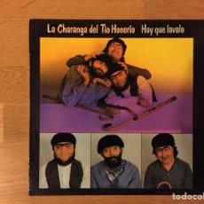 Discos de vinilo: LA CHARANGA DEL TÍO HONORIO: HAY QUE LAVALO. Lote 112361839