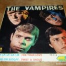 Discos de vinilo: DIFICIL THE VAMPIRES EP SESION 1966 SHA LA LA LA LEE HANG ON SLOOPY + 2 BEAT GARAGE INSTRUMENTAL. Lote 119514312