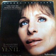 Discos de vinilo: SINGLE - CBS - A- 3888 - BARBRA STEISAND - YENTL. Lote 112368419