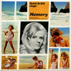 Discos de vinilo: HEIDI BRÜHL – HEIDI BRÜHL SINGT: MEMORY (DENK ZURÜCK) - FLEXI-DISC GERMANY 1967 - KODAK. Lote 112374351