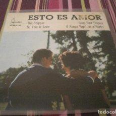Discos de vinilo: EP-ESTO ES AMOR IBEROFON 1150 SPAIN 1962 CONTRASTS ED GREGORY BARRY RANDOLPH VINCE PATT. Lote 112405147