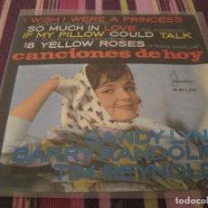 Discos de vinilo: EP-CANCIONES DE HOY IBEROFON 1223 SPAIN 1963 SANDY LYNN BARRY RANDOLPH TIM REYNOLDS. Lote 112405311
