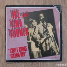 Discos de vinilo: LP IKE AND TINA TURNER SWEET RHODE ISLAND RED ARETHA FRANKLIN STAPLE SINGLERS SOUL FUNK. Lote 112408363