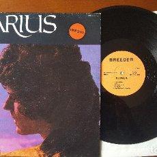 Discos de vinilo: DARIUS LP. Lote 112410231
