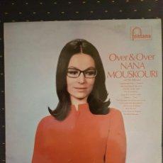 Discos de vinilo: NANA MOUSKOURI - OVER & OVER LP - 1969. Lote 112418163