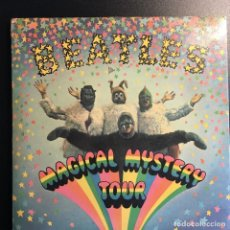 Discos de vinilo: BEATLES MAGICAL MYSTERY TOUR, DOBLE SINGEL, MUY RARO. Lote 112421851