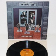 Discos de vinilo: JETHRO TULL BENEFIT 1970 USA LP 1ST PRESS ORIGINAL REPRISE 6400 FOLK PROGRESSIVE. Lote 112424403