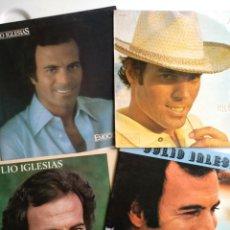Discos de vinilo: LOTE DE CUATRO LP JULIO IGLESIAS.. Lote 112425791