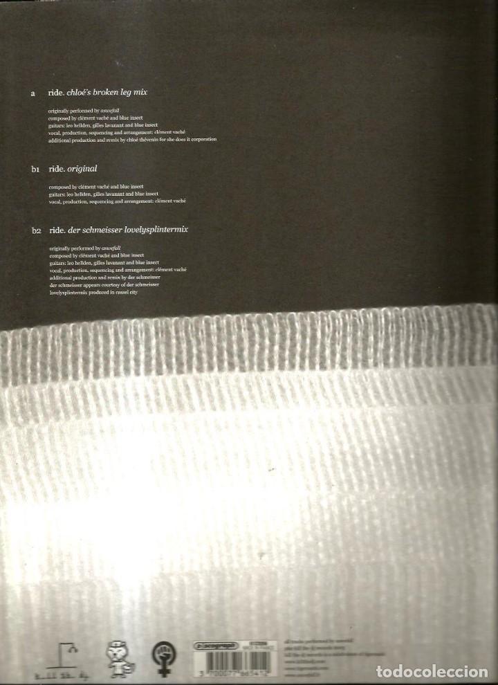 Discos de vinilo: 14 MAXIS & SINGLES 12 PULGADAS ( TECHNO, TECH HOUSE, ELECTRONIC, ELECTRO, DISCO, HOUSE ETC - Foto 4 - 112427143