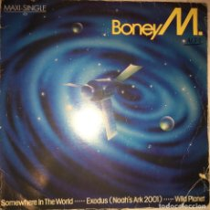 Discos de vinilo: BONEY M (SOMEWHERE IN THE WORLD). Lote 112430619
