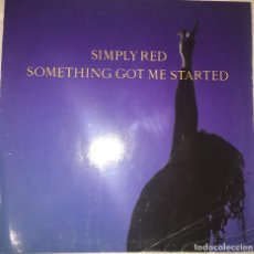 Discos de vinilo: DISCO SIMPLY RED (SOMETHING GOT ME STARTED). Lote 112431239