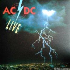 Discos de vinilo: AC/DC - BON, PLEASE DON'T GO LIVE - 1992 - 8 TEMAS - RARO - COLECCIONISTAS. Lote 112433066
