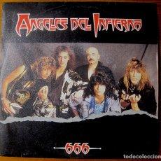 Discos de vinilo: ANGELES DEL INFIERNO. SINGLE 666. Lote 112433583
