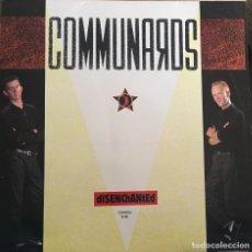 Discos de vinilo: COMMUNARDS(DISENCHANTED). Lote 112438367