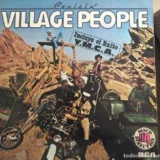 Discos de vinilo: VILLAGE PEOPLE(CRUISIN). Lote 112439603
