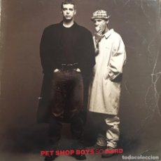 Discos de vinilo: PET SHOP BOYS (SO HARD). Lote 112440607