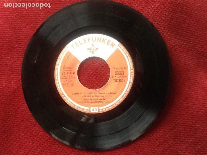 Discos de vinilo: Lola flores. ¡Ole! Lola Flores. - Foto 4 - 112443839