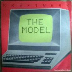 Discos de vinilo: KRAFTWERK. THE MODEL/ COMPUTER LOVE. EMI, UK 1978 (CONTIENE 2 SINGLE VINILO) . Lote 112464499
