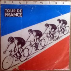 Discos de vinilo: KRAFTWERK. TOUR DE FRANCE / (INSTRUMENTAL). EMI, UK 1983 SINGLE. Lote 112465211