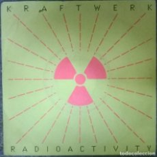 Discos de vinilo: KRAFTWERK. RADIOACTIVITY (FRANCOIS KEVORKIAN/ WILLIAM ORBIT). EMI, UK 1991 SINGLE. Lote 112467695
