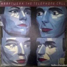 Discos de vinilo: KRAFTWERK. THE TELEPHONE CALL/ DER TELEFON ANRUF. EMI, SPAIN 1986 (SINGLE PROMOCIONAL). Lote 112468339