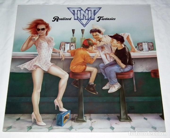 LP TNT - REALIZED FANTASIES (Música - Discos - LP Vinilo - Heavy - Metal)