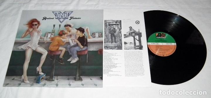 Discos de vinilo: LP TNT - REALIZED FANTASIES - Foto 3 - 112468859