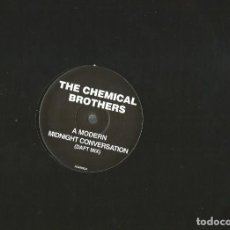Discos de vinilo: MAXI SINGLE THE CHEMICAL BROTHERS : A MODERN MIDNIGHT CONVERSATION ( DAFT MIX ). Lote 112472699